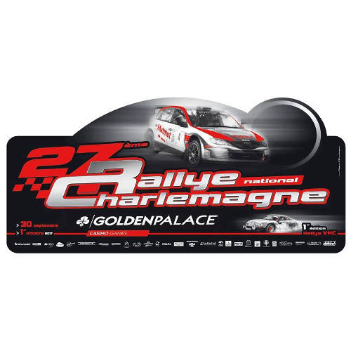 Rallye Charlemagne Golden Palace 2017